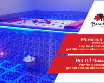 Special Offer Moraccan Bath & Hot Oil Massage