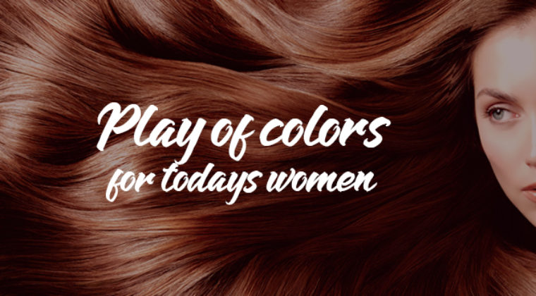Play of colors for today's women!