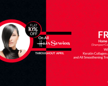 Hair Treatment Offers April