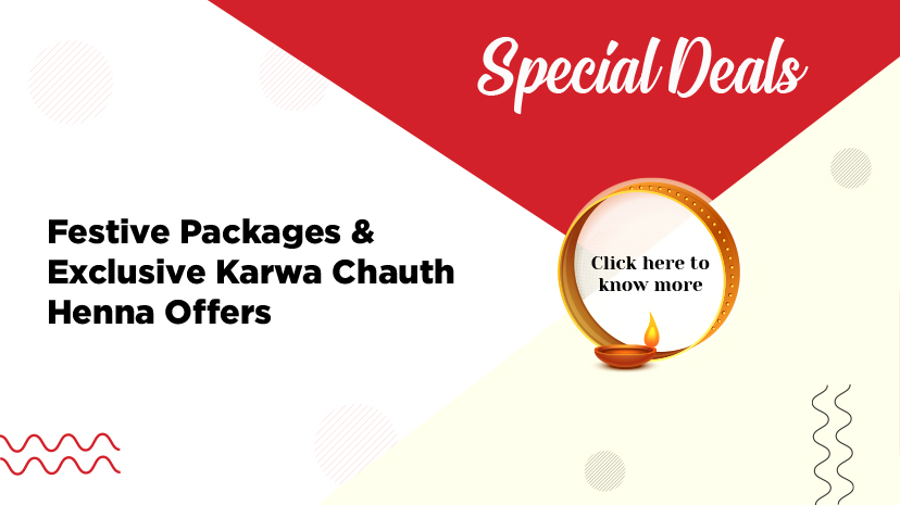 Festive Packages & Exclusive Karwa Chauth Henna Offers