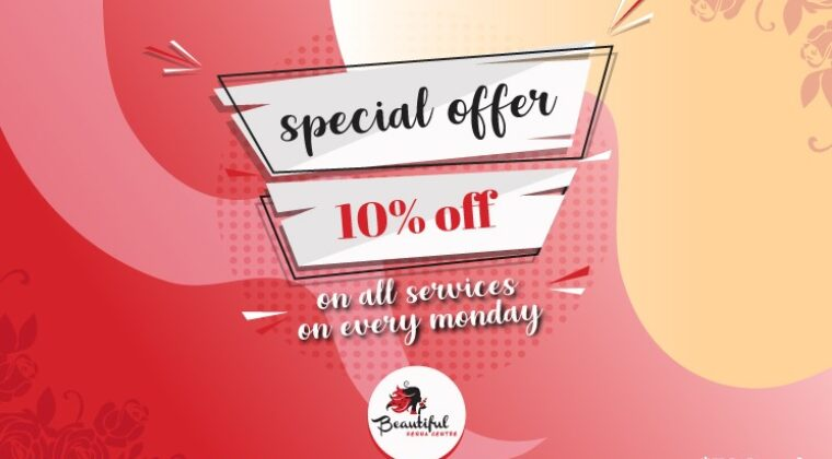 August 2020 Offer Get 10% Off on All Services Every Monday