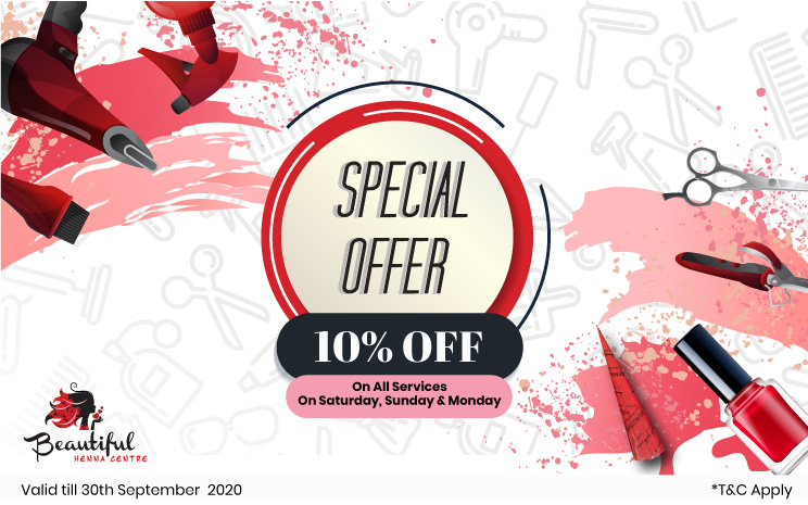 Super Savings with special 10% off on all services!