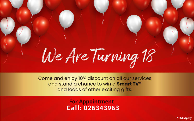 We Are Turning 18 Join Us For Celebration 18